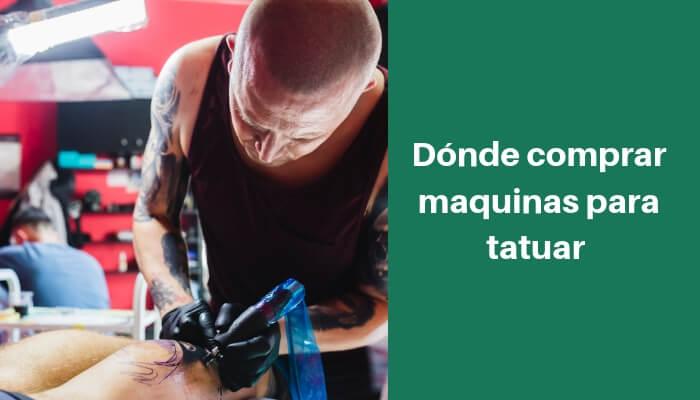 donde comprar maquinas para tatuar en mexico