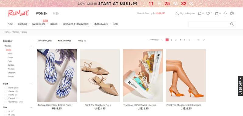 tiendas para comprar zapatos en china