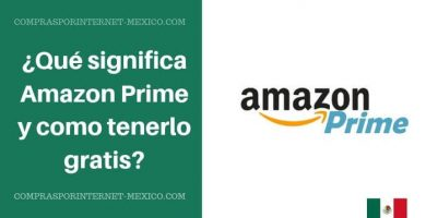 amazon prime mexico