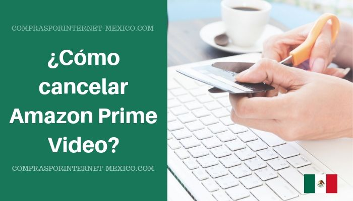 cancelar amazon prime video