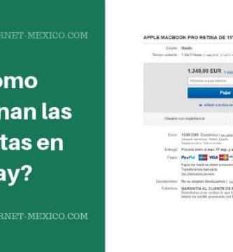 como funcionan subastas en ebay