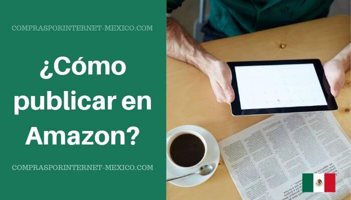como publicar en amazon