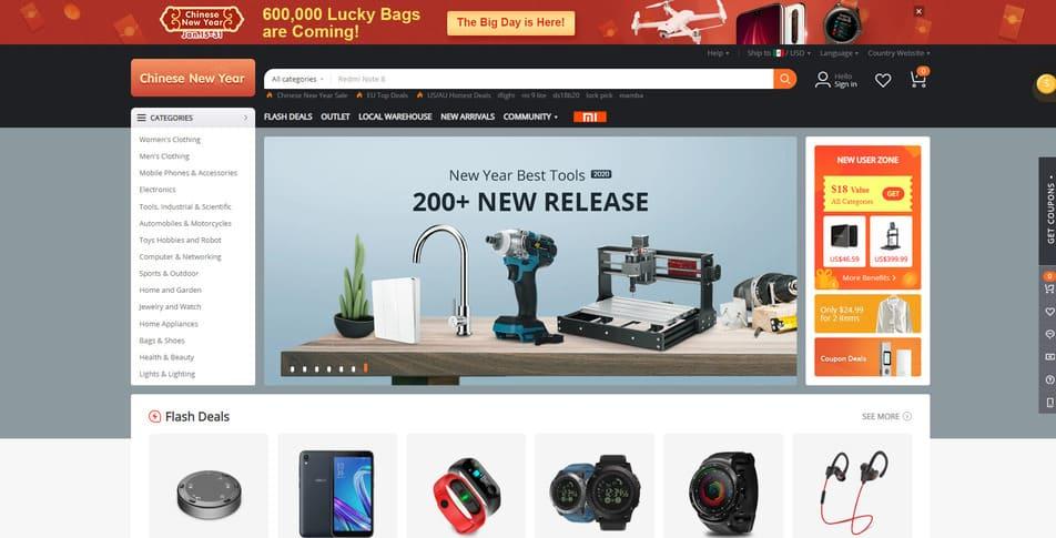 Banggood  tienda china Online Shopping