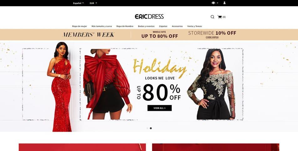 Tienda comercial en línea china para ocasión de la boda y fiesta vestidos- Ericdress com