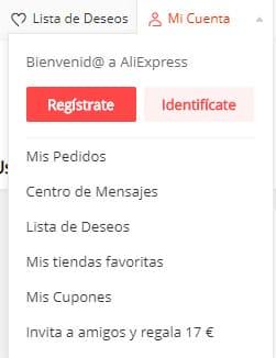 donde me puedo registrar en aliexpress mexico